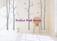 decal wall vinyl decal wall tree wall decal wall decals Nursery wall decals Branch vinyl wall decals Children wall decals nature---Tree