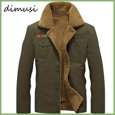 Cheap jacket, Buy Quality jacket tactical directly from China bomber jacket men Suppliers: DIMUSI Winter Bomber Jacket Men Air Force Pilot Jacket Warm Male fur collar Army Jacket tactical Mens Jacket Size Military Bomber Jacket, Bomber Jacket Winter, Bomber Jackets, Military Jackets, Cargo Jacket, Motorcycle Jackets, Military Uniforms, Windbreaker Jacket, Hoodie