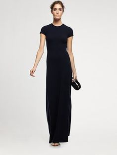 Cashmere Gown.  Ralph Lauren Black Label. -- Simple elegance... typical Ralph.