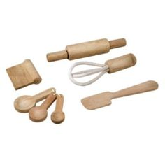 PlanToys Baking Utensils #Kids #Toys #Christmas #Wishlist #Children #Learning #Education #Toy #Tricycles #Scooters #Wagons