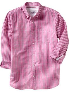 Old Navy Pattern Button-Down