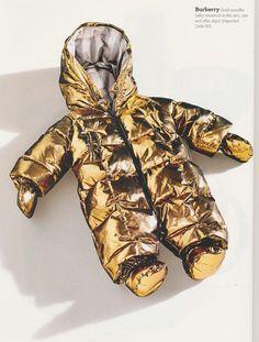 Burberry Metallic Suit.
