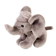 From large and small stuffed elephants, elephant puppets, baby safe stuffed elephants, and even realistic elephant stuffed animals, Stuffed Safari. Realistic Stuffed Animals, Elephant Stuffed Animal, Homemade Toys, Baby Safe, Plush Animals, Vintage Toys, Kids Bedroom, Safari, Childhood