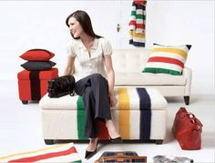 ~the new life of a hudson bay blanket~