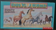 Herd Your Horses! Vintage Board Game Horse lovers Educational 8+ 2-4 Players #Aristoplay