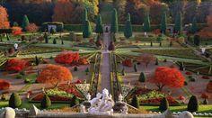 Drummond Castle Gardens, Perthshire, United Kingdom