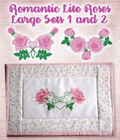 Romantic Lite Roses Large Sets 1 and 2