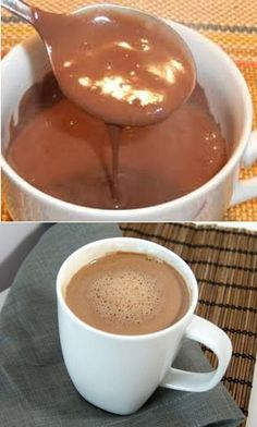 Cioccolata Calda Dukan (dukan hot chocolate use google translate)