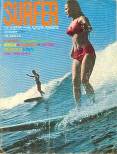 Vintage surf poster***Research for possible future project.
