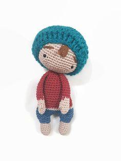 Crochet Soft Doll, Amigurumi Doll, Plush Soft Doll,  Waldorf