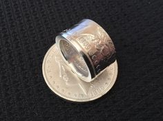 Making a Morgan Dollar Coin Ring Using the Swedish Wrap Method... New Co...