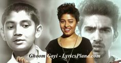 Lyrics Plane: Ghoom Gayi Song Lyrics - Hawaa Hawaai (Sunidhi Cha...