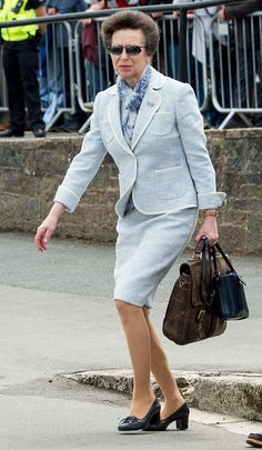 Princess Anne, Princess Royal attends Bicentenary Celebrations of The Royal Yacht Squadron on June 2015 in Cowes, England. Get premium, high resolution news photos at Getty Images English Royalty, My Prince Charming, Queen Of England, Lady Diana Spencer, Queen Mother, Royal Princess, Royal Style, Queen Elizabeth Ii, Royal Fashion