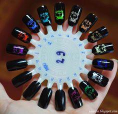 Mundo de Unas stamping polish review
