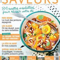 Saveurs France – Juillet-Août 2017, PDF, Food & Cooking Magazines, cookingebooks.info