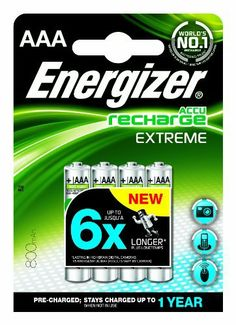 Energizer Rechargeable Extreme AAA 800mAh Batteries - Pack of 4 by Energizer, http://www.amazon.co.uk/dp/B007P3AT0G/ref=cm_sw_r_pi_dp_qhW1sb0D0C6S3