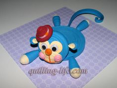 Quilling for kids Quilling Animals, Paper Quilling, Quilling Ideas, Quilling Tutorial, Diy Paper, Paper Crafts, Diy And Crafts, Arts And Crafts, Tea Coaster