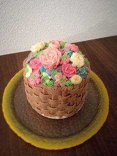 Blumenkorb Torte