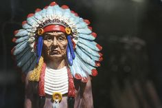 Cigar Store Indian / http://www.cigarsonlinetoday.com/cigar-store-indian-15/