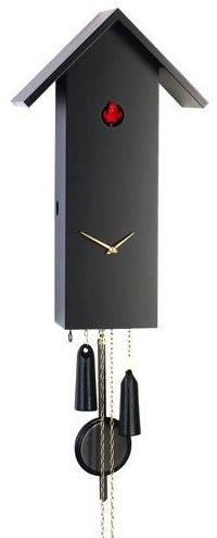 Contemporary Cuckoo Clock 1 Day Movement Romach Und Hass Simple Line