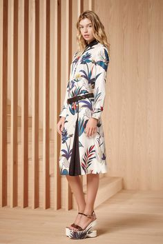 The latest season is gearing up for high shine, slip dressing, the new power suit, animal printed cool and more.