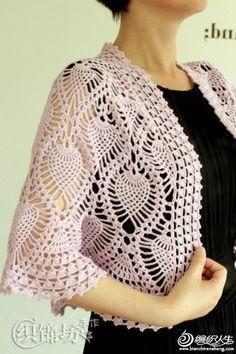 For Beginners Shawl crochet bolero pattern pdf chart diagrams Crochet Bolero Pattern, Col Crochet, Gilet Crochet, Crochet Cape, Crochet Cardigan, Crochet Shawl, Crochet Sweaters, Free Crochet, Lace Shrug