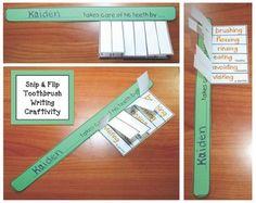 dental hygiene activities, (toothbrush)