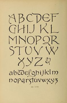 Alphabets old and new, for the use of craftsmen