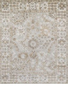 Loloi Rug, silver/ivory