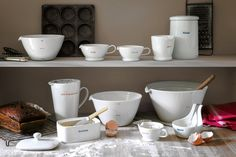 Love simple line of ceramics from Keith Brymer Jones