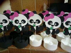 Panda Themed Party, Panda Birthday Party, Panda Party, 9th Birthday, Panda Baby Showers, Baby Shower Game Prizes, Barbie Cake, Baby Shawer, Ideas Para Fiestas