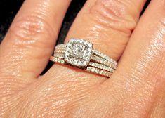 SALE 50% OFF 14k Rose & White Gold 1/4 Carat Round Diamond