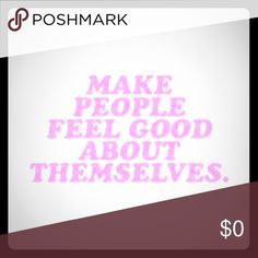 💖 EVERYDAY GOAL 💖 I ship Mon-Fri. Thanks Posh Dolls 💁🏽 I wish you a Poshtastic Day and thanks for stopping by. I ❤️to share and follow so let's support each other by doing the same. Sharing is Caring and it's a Win Win for All 😎 Other