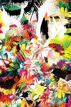 'anarchrysanthemum' iphone 4 wallpaper