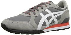 Asics Tiger Women Sneakers | Onitsuka Tiger Colorado Eighty-Five Classic Running Shoe, Grey/White, 8 M US