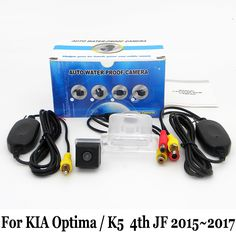 Car Parking Camera For KIA Optima / K5 4th JF 2015 2016 2017 / RCA AUX Wire Or Wireless / HD Night Vision Rearview Camera