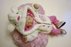 Sculpted OOAK Baby Doll Clothes Bodysuit Coat Paci Tiny Miracle Mini Reborn 10""