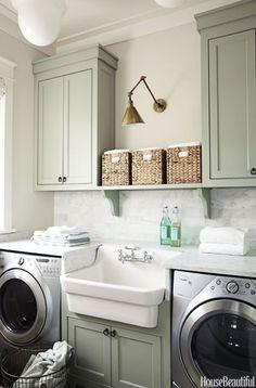 Amazing Farmhouse Laundry Room Decor Ideas 01