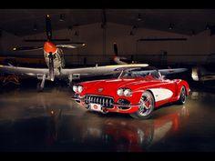 1959 Corvette Stingray Convertible -by-Pogea-Racing Maserati, Lamborghini, Ferrari, Chevrolet Corvette C1, 1962 Corvette, Chevy, Audi, Porsche, Alfa Romeo
