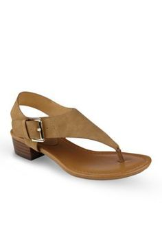 Tommy Hilfiger Women s Kitty Block Heel Thong Heels - Light Brown - 9.5M  Tommy Hilfiger 900e47d736d