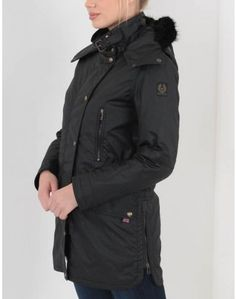 Belstaff CT Master Luxe Parka Fur Lined Black Coats For Women, Jackets For Women, Belstaff Jackets, Great Names, Summer Is Coming, Barbour, Canada Goose Jackets, Parka, Ski
