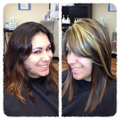 Color correction. Went to a dimensional blonde.