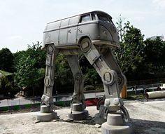 Que la force soit avec ce Combi VW !
