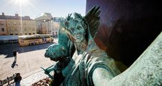 Helsinki is a city of wonderful statues. As it is, the statues are a bit forgotten. We decided to shine the spotlight on them and give them the place they deserve on the internet.