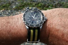 In May, we gave away a Marathon GSAR on a NATO from Crown & Buckle, and there could not have been a more appropriate winner. Cool Watches, Watches For Men, Crown And Buckle, Marathon Watch, Most Popular Watches, Watch Blog, Nato Strap, Omega Watch, The Cure