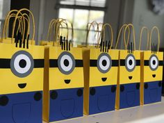 Just launched! MINION Birthday Party Favor Bags/ Gifts/ Treats/ Loot/ Decorations/ Supplies/ Goodies/ Goody/ Fiesta/ Candy http://crwd.fr/2xIui2g #minions #minion #minioncake #minionsparty #despicableme #despicableme3 #minionbirthday #birthdayparty #eventplanner #events #eventplanning #party #partyplanner #birthdaygirl #birthday #birthdayboy #birthdaycake #houston