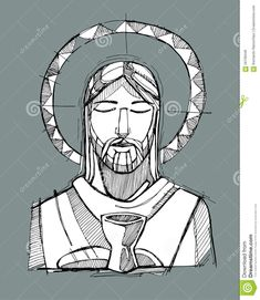Jesus Eucharist - Download From Over 45 Million High Quality Stock Photos, Images, Vectors. Sign up for FREE today. Image: 56708446