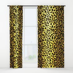 "Your drapes don't have to be so drab. Our awesome Window Curtains transform a neglected essential into an awesome statement piece. Featuring a single-sided print with a reverse white side.     - Dimensions: 50"" (W) x 84"" (H)   - Available in single or double panel options   - Crafted with 100% lightweight polyester, blocks out some light   - 4"" hanging pocket for easy hanging on any rod   - Single side print on front with reverse white side   - Machine wash cold, tumble dry low"