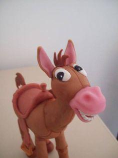 Topo de Bolo, o Cavalinho muiiiiiito simpático , do filme Toy Store