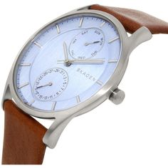 Skagen Women's Holst SKW6178 Brown Leather Quartz Watch
